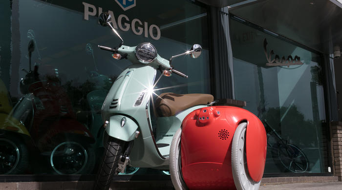 Piaggio Fast Forward: the Gita robot recognised with an honourable mention at the innovation by Design awards 2020